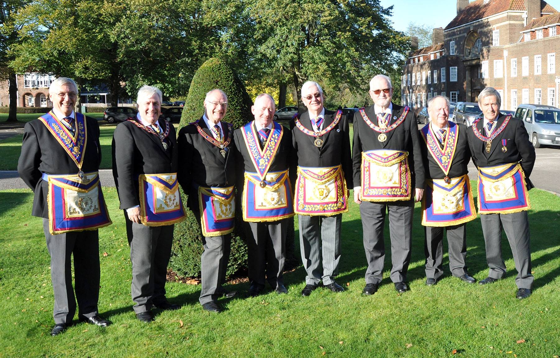 Visit to the Provincial Mark Grand Lodge Of Middlesex