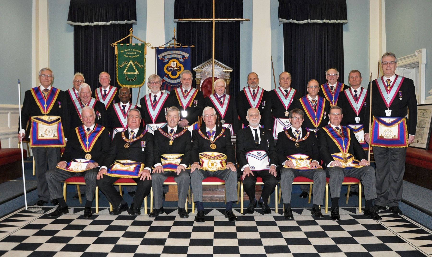 The Provincial Grand Master visits Pride of Surrey Lodge