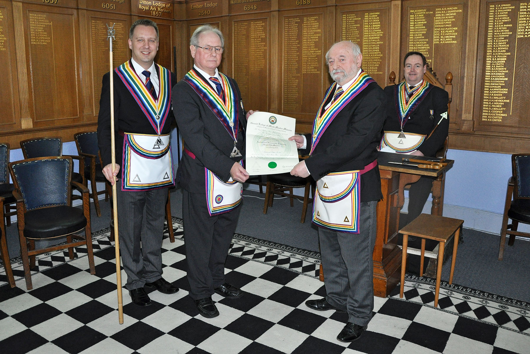 The Installation meeting of the Richmond Lodge