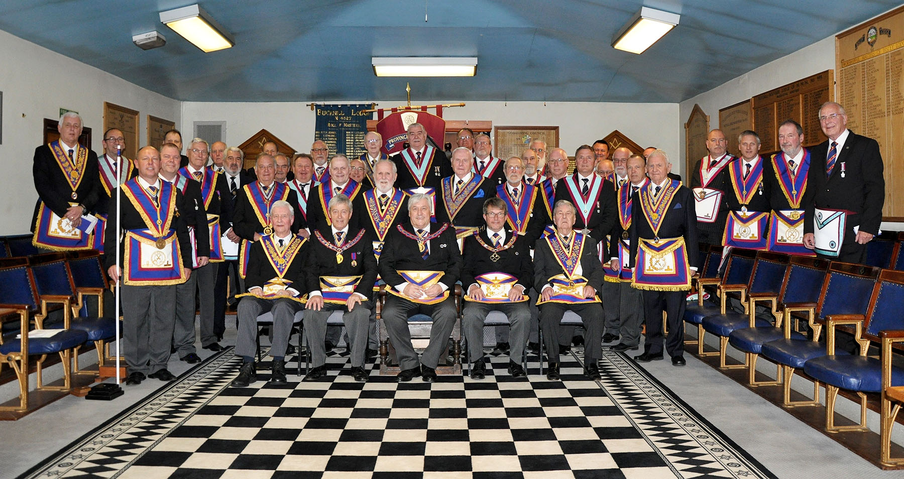 Executive visit to  Pleydell Bouverie RAM and Mark Lodges