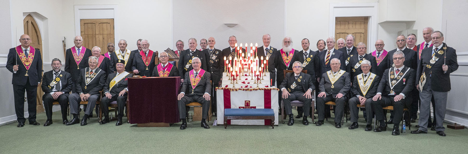 Our Provincial Grand Master joins Rose Croix