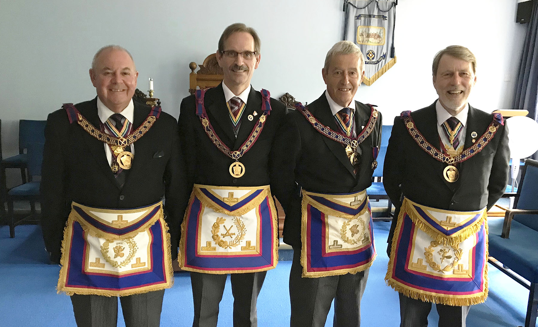 Visit to the Provincial Mark Grand Lodge of Buckinghamshire