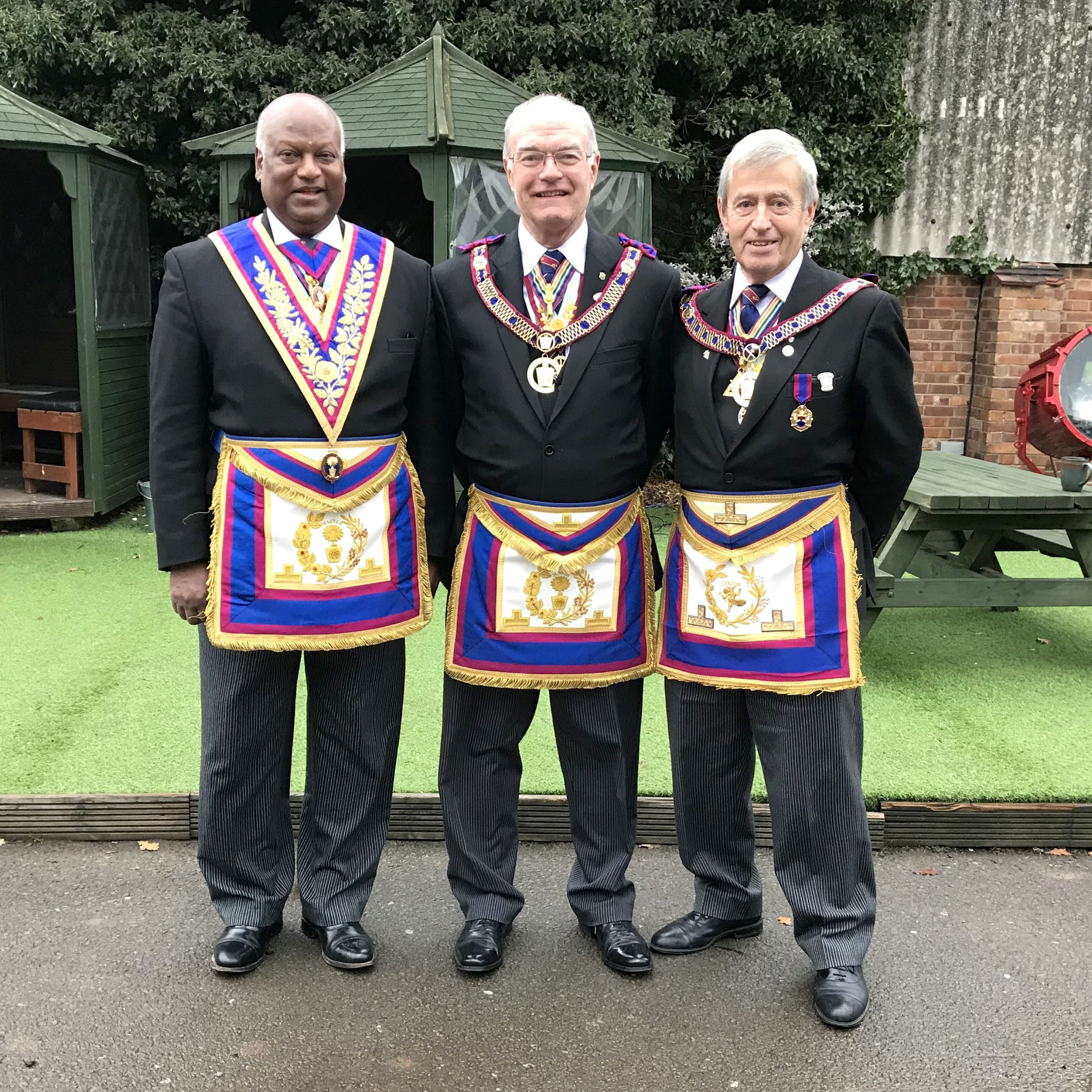 Visit to the Provincial Mark Grand Lodge Of Warwickshire